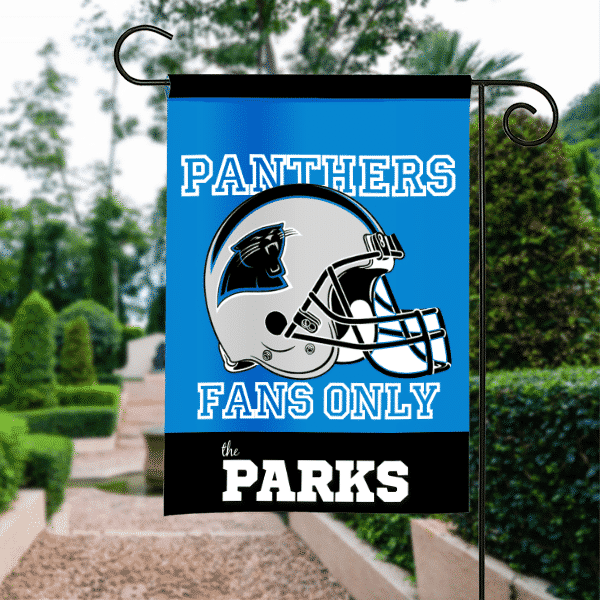 Carolina Panthers NFL Football Personalized House Garden Flag
