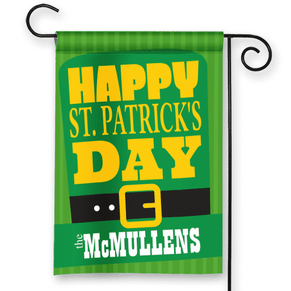 Green Top Hat St Patrick S Day Design Personalized House