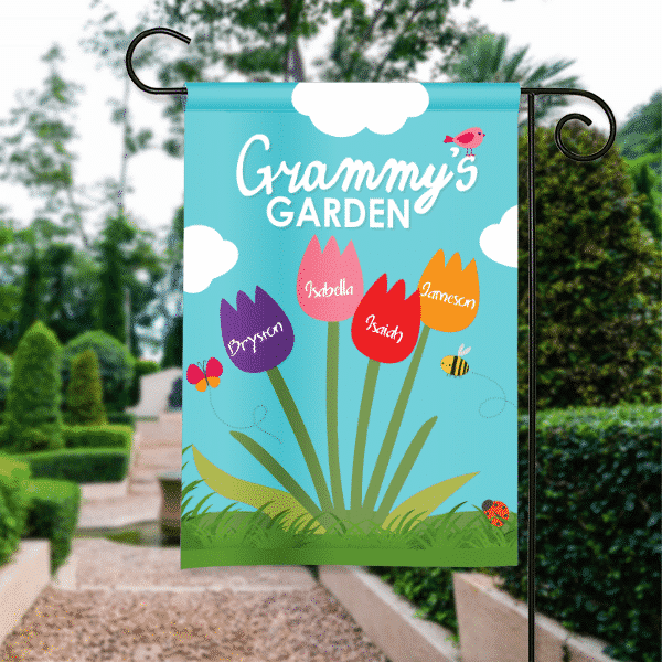 Grandma S Favorite Garden Mothers Day Personalized Garden