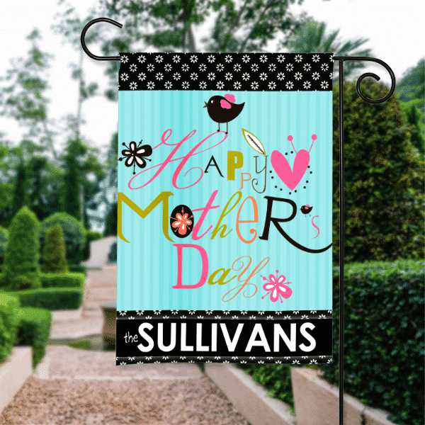 Happy Mother S Day Personalized Garden Flag Front Porch