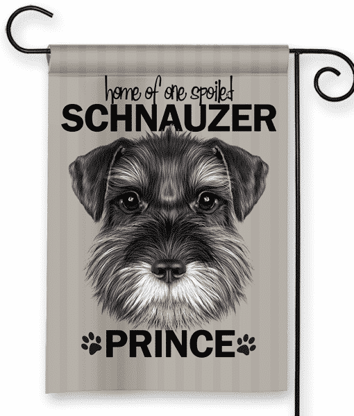 Superieur Sgf 00502 Schnauzer Personalized Dog Breed Pet Lover Custom Garden House  Flag By Front Porch